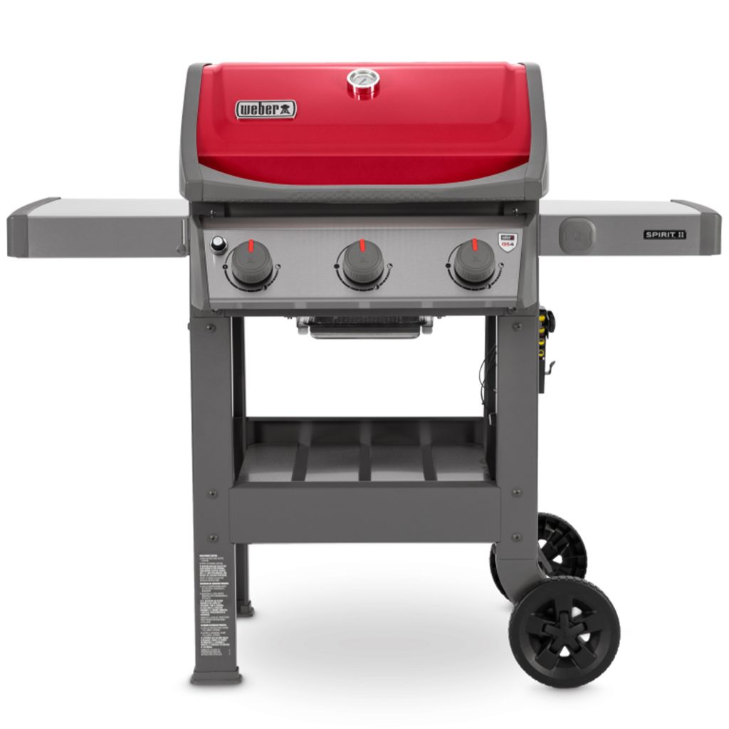 WEBER SPIRIT II E310 RED GBS GAS BRAAI