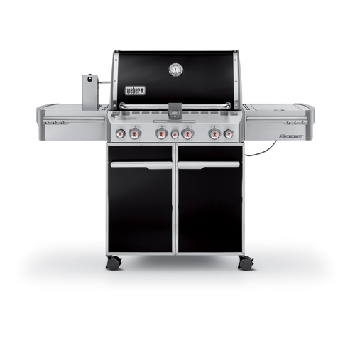 SUMMIT E470 BLACK GAS BRAAI