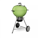 WEBER 57CM MASTERTOUCH WITH GBS GRATE & TUCK AWAY LID SPRING GREEN