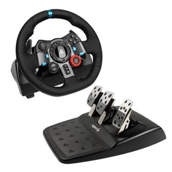 Logitech G29 Driving Force Racing Wheel (PS4, PS3 & PC)