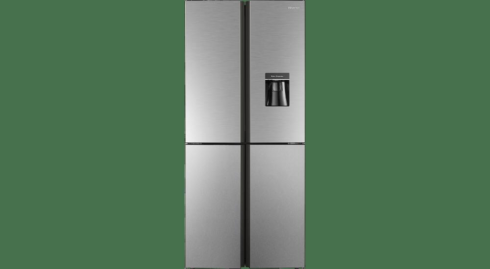 HISENSE Inox Fridge With Water Dispenser H520FI-WD
