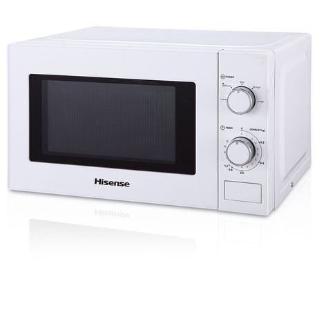 Hisense – 20 Litre Microwave Oven – White H20MOWH