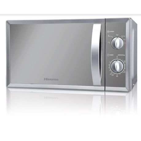Hisense – 20 Litre Microwave Oven – Mirror Silver H20MOMMI