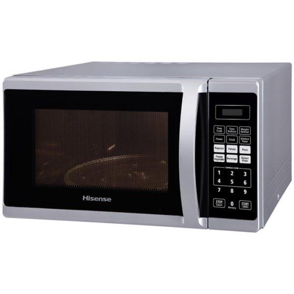 Hisense 28L Electronic Microwave Metallic H28MOMME