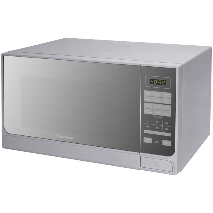 Hisense – 30 Litre Microwave Oven – Mirror Silver H30MOMMI