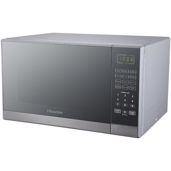 Hisense – 36 Litre Microwave Oven – Mirror Silver H36MOMMI
